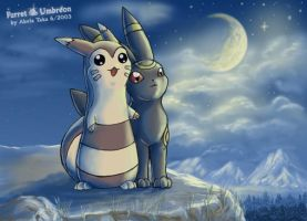 Furret and Umbreon