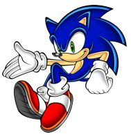 Sonic channel pose. by megax88