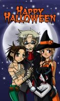 Happy Halloween SAW style by Psy-CHO-Aoi