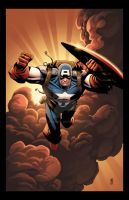 Captain America by RossHughes