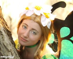 Remember to smile - Mercedes from Odin Sphere by AishaCain