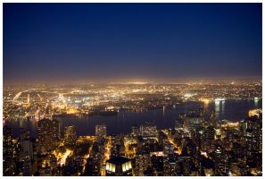 East River By Night by madko