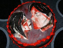 MCR Cake 2 by 1CrazyVegetarian
