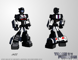 TF:Ignition - Jazz (Robot Mode) by KrisSmithDW