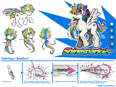 My Little Pony: Shinespark by transfuse