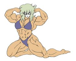 Muscle Shaina by Dairugger