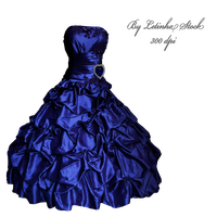 Blue Gown by letinhastock