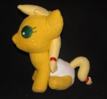 Baby Applejack side view by Gypmina
