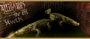 Alligators in the sewers by Bluris21