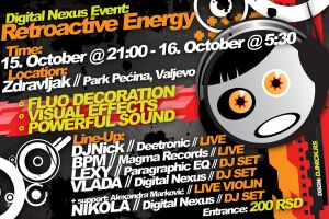 Digital Nexus party flyer by djnick2k