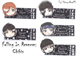 Falling In Reverse Chibis by Ebony-Rose13