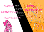 Confetti Party!!!!!!!!!!!! by daisymeadows