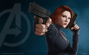 The Avengers Black Widow by iurypadilha