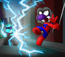 The Amazing Spider-Ernie: Enter Electro by ErnestoGP