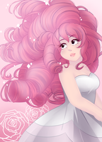 Steven Universe: Rose Quartz by TheTimeLimit