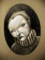 Mime portrait by novac