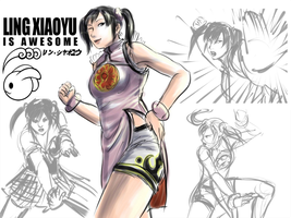 Ling Xiaoyu is AWESOME by kicky