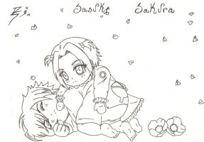 SASUKE AND SAKURA BABY'S by SEIROTH