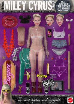 Miley Cyrus Barbie Doll by DevilishlyCreative