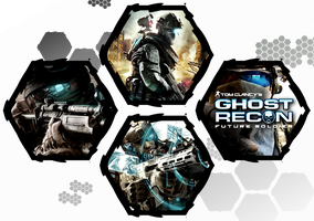 Ghost Recon: Future Soldier by WE4PONX