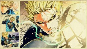 One-Punch Man - ''Genos'' (Wallpaper 01) by Dr-Erich