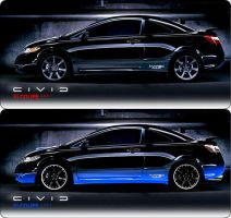 Modded Civic by RVGENomini