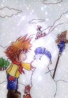 KH Winter by KawaiiDarkAngel