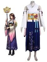Final Fantasy Yuna Cosplay Costume by boomjoy