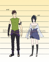 Soph x Sasu: Gender Bender by MhhKiwii