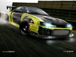 Nissan 200sx by edcgraphic