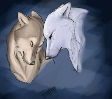 wolves by Foxine