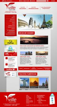 WEB VILLE TURISMO by wdesigner