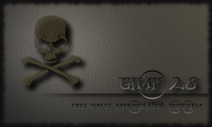 Gimp 2.8 Splash Screen by miguelsanchez666