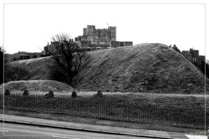 Dover Castle by 0-Photocyte