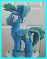 mlp plushie commission SKY STINGER by CINNAMON-STITCH