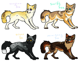 Fox Adopts 1 - EDIT : PAYPAL OR POINTS by PuddingWaffles