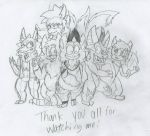 A late 300 watchers picture sketch by COMICANDBLUE-FIRUKO