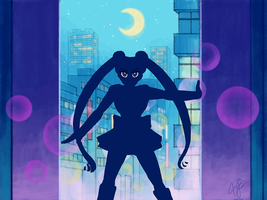 Sailor Moon - Sailor Moon to the Rescue Redraw by YazzyDream