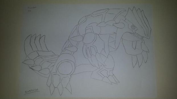 groudon by CHARIZARD205