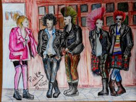 Punks from Dublin by deathswife666