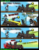 Borderlands 2 Bad Ass Achievement Catch A Ride by fargokraft