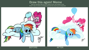 Before and After - A Fix For Boredom, 2013 v 2014 by stuhp