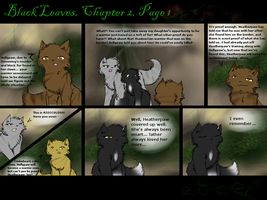 Black Leaves: Chapter 2, Page 1 by Amerikat