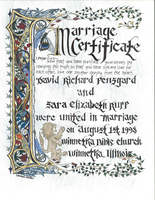 Marriage Certificate by EluminoraStudio