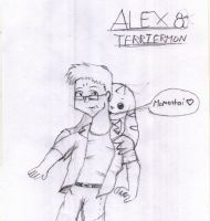 Me and Terriermon by Artooinst