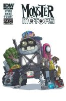 Monster Motors SDCC'14 Exclusive by DanSchoening