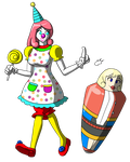 Clowntoon and ICmyaieye by TF-Circus