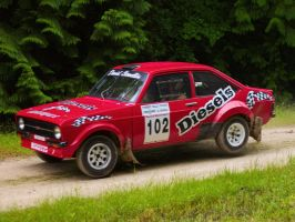 Goodwood 2012: Ford Escort RS1800 by randomlurker