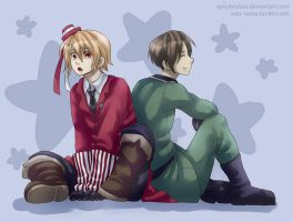 [APH] Romania and Bulgaria by Edo--sama