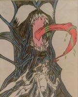 Hinata Hyuuga Monster Venom by A5L